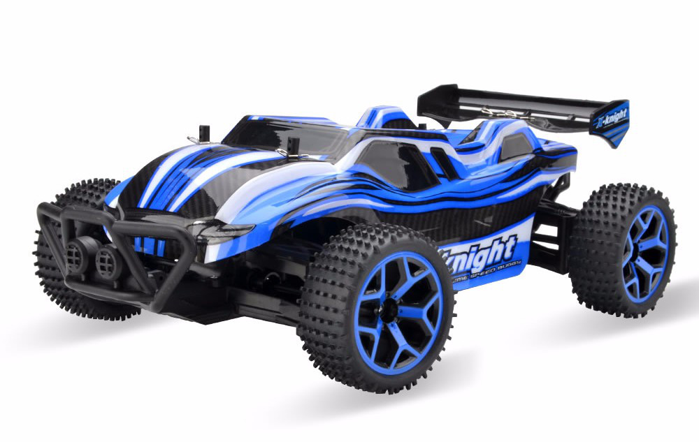 Радиоуправляемая игрушка SUNROX X-Knight детский автомобиль на р/у 1:18 4x4 Синий (SUN1767)