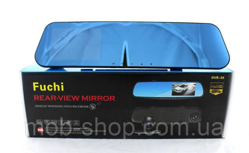 Автомобильный регистратор-зеркало DVR L900 Full HD + камера заднего вида