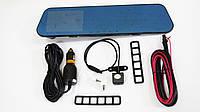 Автомобильный регистратор-зеркало DVR L900 Full HD + камера заднего вида, фото 8