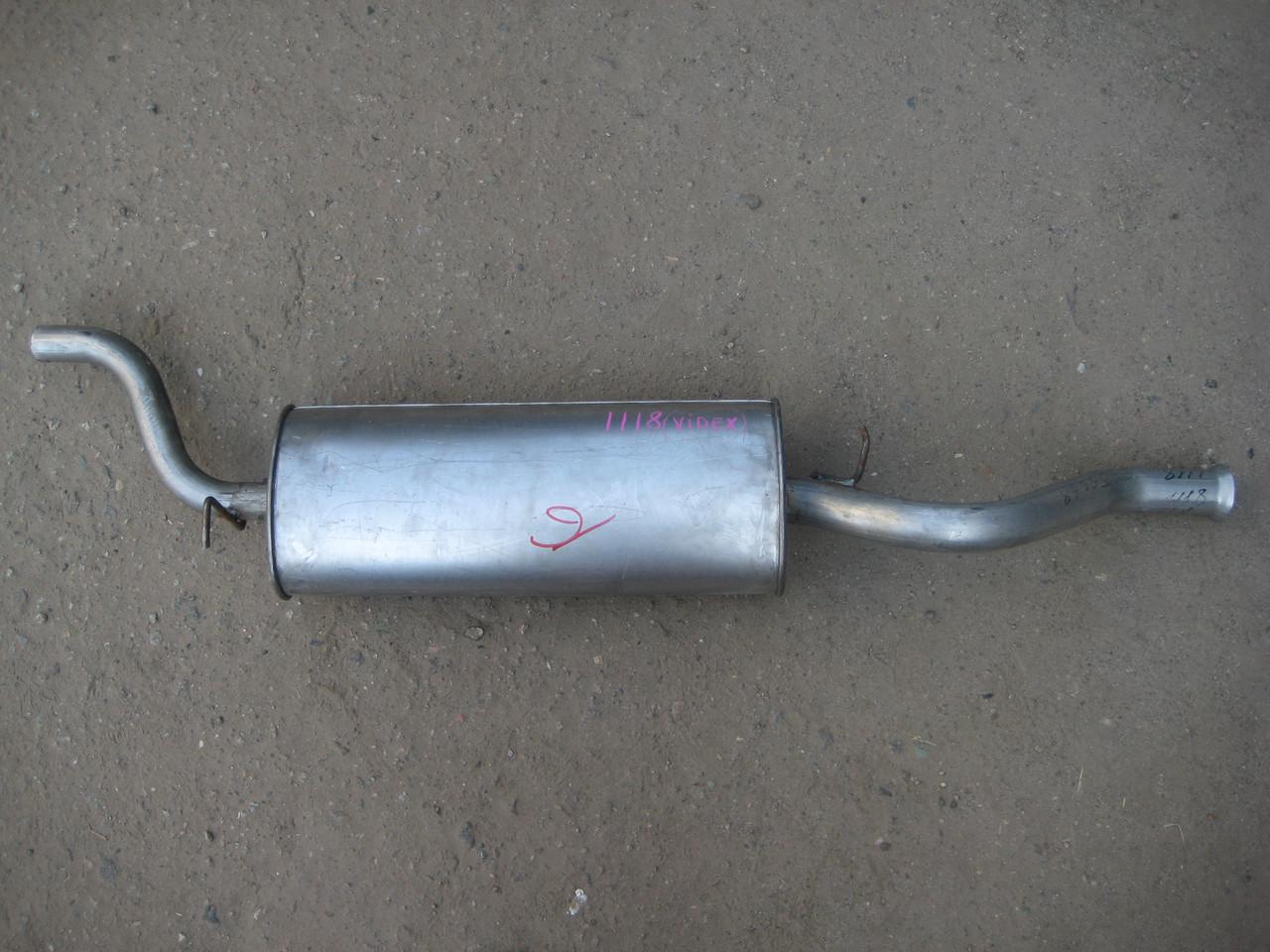 Глушитель ВАЗ 1118 Калина Видекс алюминька
