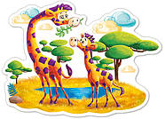 "Пазлы на 12 элементов. ""Жирафы в Саванне"", фото 2"