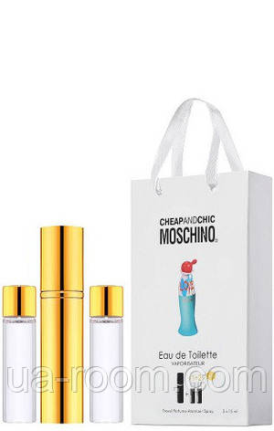 Мини-парфюм женский Moschino I Love Love, 3х15 мл, фото 2