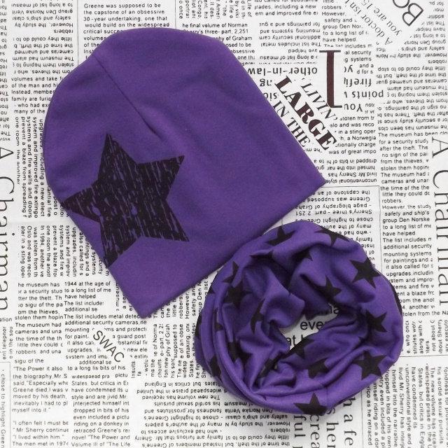 Демисезонный набор: детская шапка  и хомут Оптом