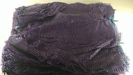 Сетка мешок для овощей фиолетовая на 40кг, (100шт)