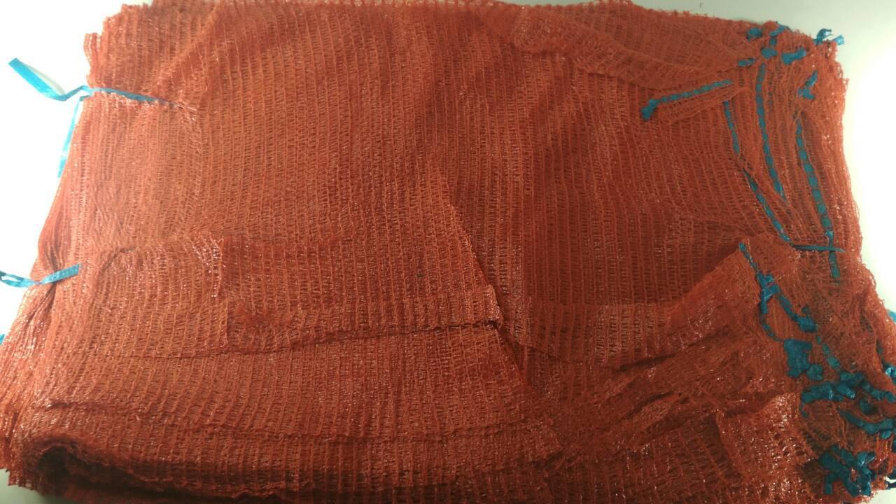Сетка мешок для овощей красная (р45х75) на 30кг, (100шт)