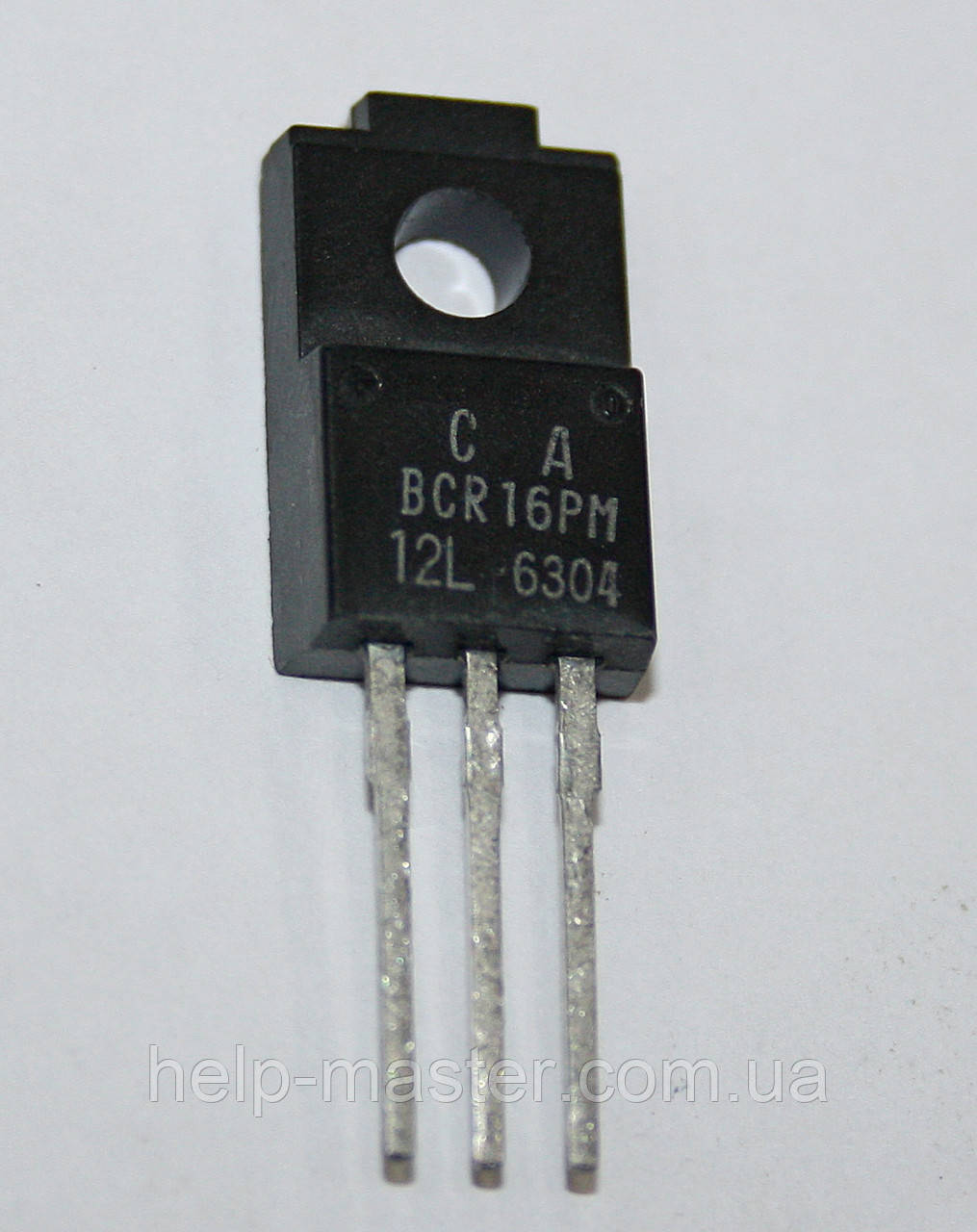 Симистор BCR16PM-12LC (TO-220F)