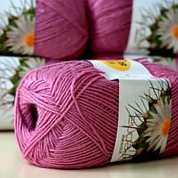 Нитки для вязания Ареола Акрил № 12 (50 грамм) розовый