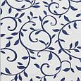 Декоративная ткань для штор, вензель синий, фото 2