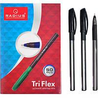 """От 50 шт. Ручка """"TriFlex"""" RADIUS тонированная 50 штук, чорна 779306 купить оптом в интернет магазине От 50 шт."""