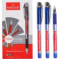 """От 12 шт. Ручка """"Max-O-Miles"""" RADIUS принт 12 штук, синяя 779290 купить оптом в интернет магазине От 12 шт."""
