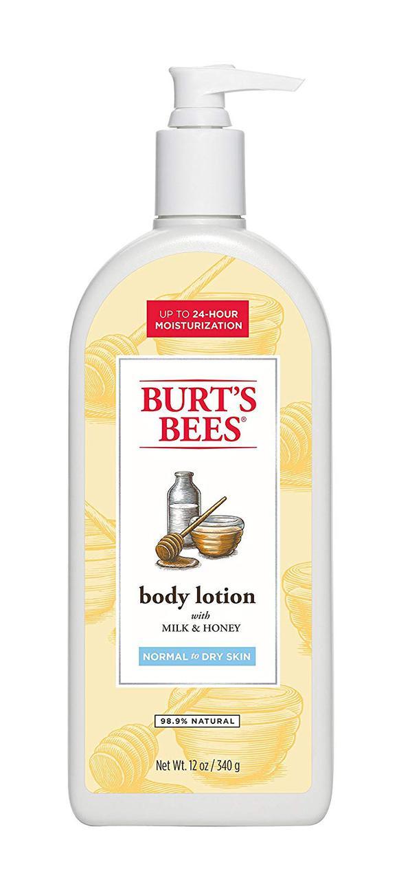 Увлажняющий лосьон для тела Burt's Bees Body Lotion Milk & Honey
