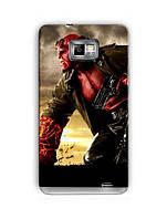 Чехол для Samsung Galaxy S2 (Hellboy)