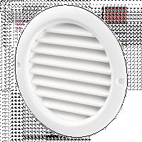 Круглые вентиляционные решетки Домовент ДВ 125 бВ