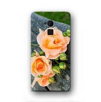 Чехол для Samsung Galaxy S2 (персиковые розы)