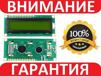 LCD 1602 для Arduino, ЖК дисплей c зеленой подсветкой (без i2c модуля)