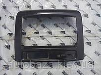 Накладка на панель CD чорна Geely МК 101800593700694