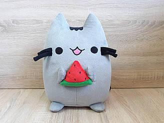 Мягкая игрушка Кот Пушин Pusheen - the cat с арбузом