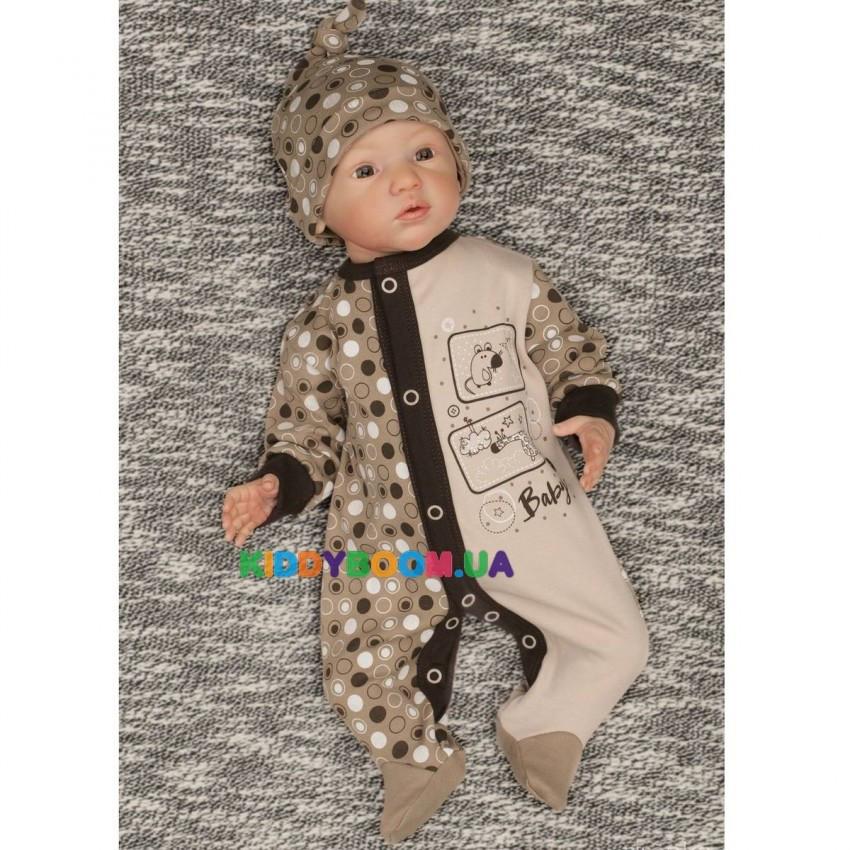 Комбинезон Baby р.56-74 Zironka 6-7001-5
