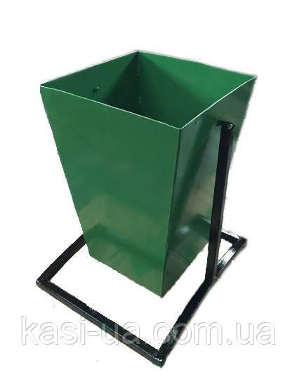 Уличная урна для мусора металлическая №5