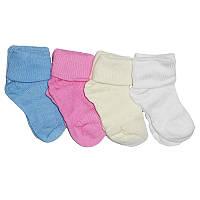 """Носочки  №0-1 """"Eslayn"""" белые и цветные"""