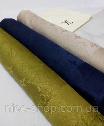 Платок Louis Vuitton оливковый, фото 3