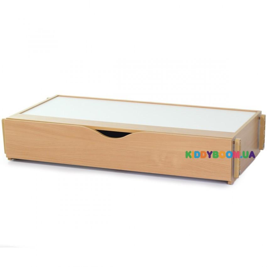 Ящик с маятниковым механизмом для кроватей Верес ЛД6, ЛД15 бук 40.21.1.01