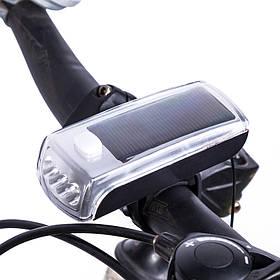 Передній велосипедний ліхтарик на сонячній батареї HJ-029
