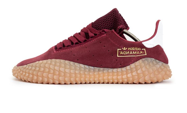 3b2e15d46a41 Мужские кроссовки Adidas Kamanda x CP Company Bordo (Реплика ААА класса) -  FREE CHOICE