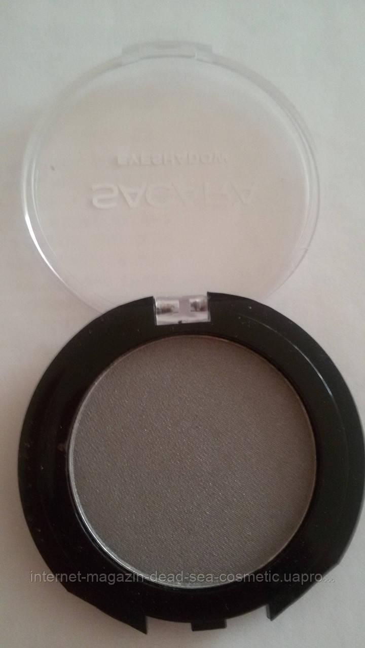 Компактные тени для век Sacara № 222 серибристо-серый