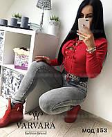 Кофта женская со шнуровкой, фото 1