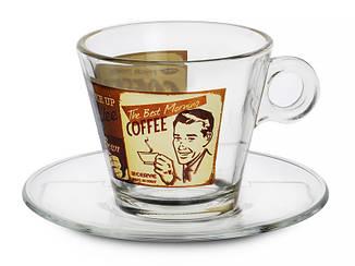 Кофейный набор CERVE S.P.A. Латте 8 предметов 280 мл, 650-646