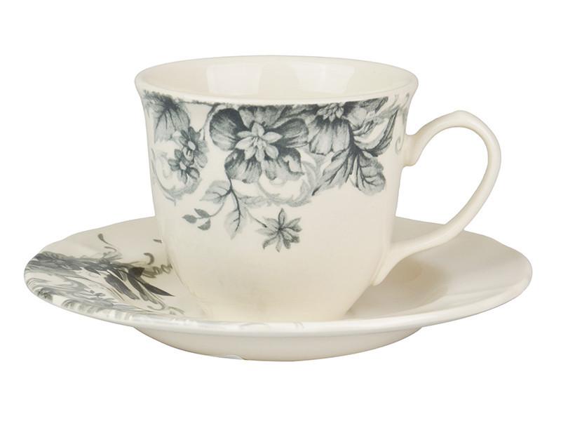 Чайный набор Lefard Винтажные цветы 2 предмета 240 мл, 910-112