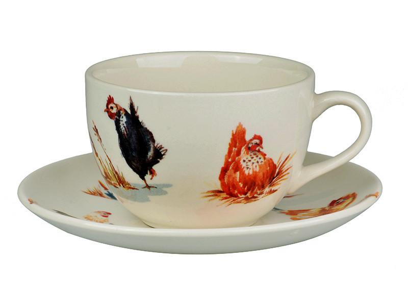 Чайный набор Lefard Птичья ферма 2 предмета 240 мл, 910-128