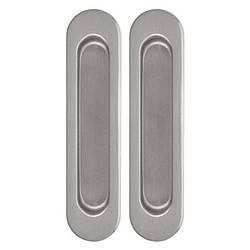 Ручки для раздвижных дверей, комплект Siba Сатин