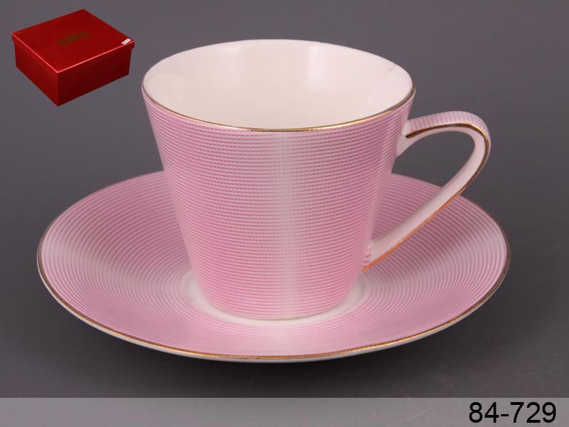 Набор чайный Lefard Модерн розовый 2 предмета, 84-729