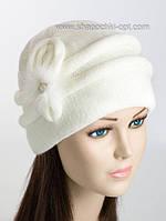 Женская теплая шапка Петля