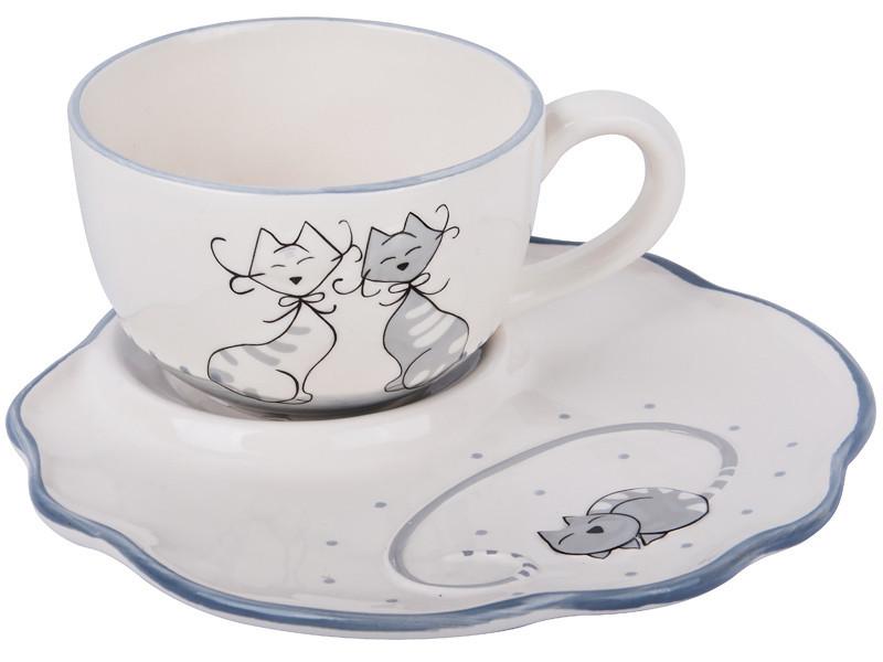 Набор чайный Lefard Коты 260 мл 2 предмета, 940-098