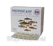 Риб'ячий жир з печінки тріски №100 капсули
