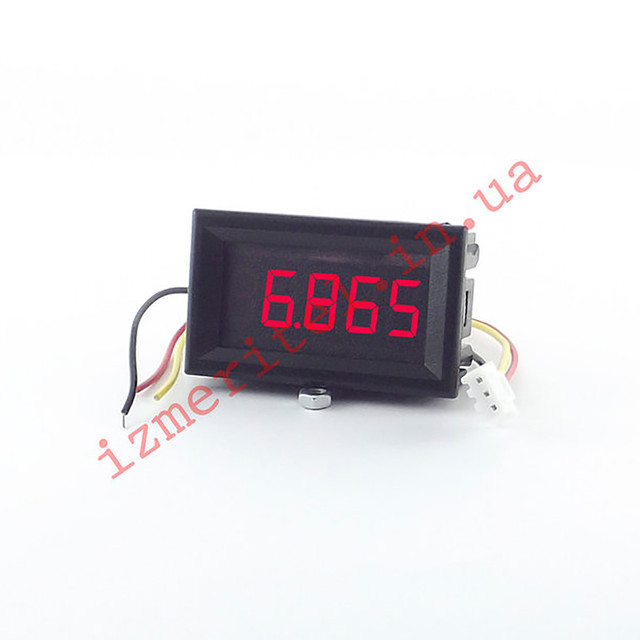 Цифровой вольтметр DC 0-33 В