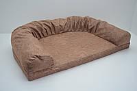 Диван для собак і котів Мрія коричневий, фото 1
