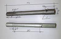 Вал шестеренки бетономешалки 125С,160С,180С-2G-32 (d=19 мм, L=173 мм), фото 1