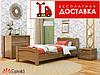 Кровать Венеция 190*80 бук Эстелла (ЩИТ)