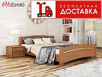Кровать Венеция 200*140 бук Эстелла (ЩИТ), фото 1