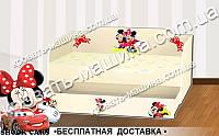 Кровать диванчик МИННИ МАУС с ящиком 1700Х800