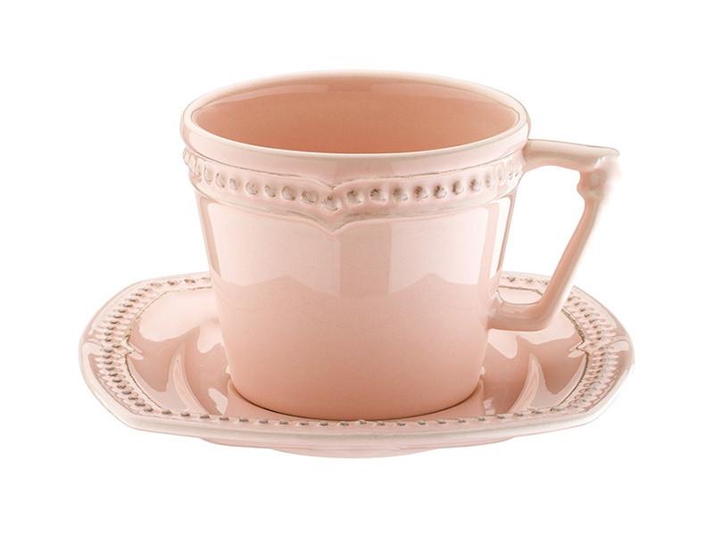 Чайный набор Lefard  Алия  розовый 2 предмета, 942-057