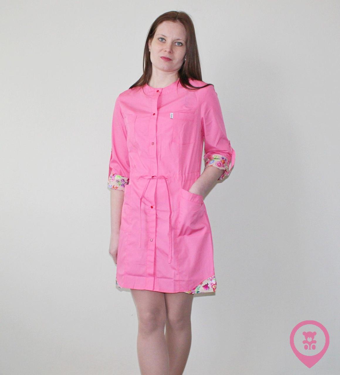 Медицинский женский халат SM 9140-6 Angela ХБ