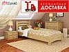 Ліжко Венеція Люкс 190*80 бук Естелла (ЩИТ)