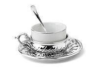 Набор для чаепития Lefard на 1 персону, серебро, 336-023