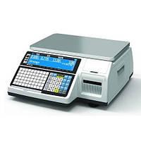 Весы с печатью этикетки CAS CL3000J-IB (без стойки) бу