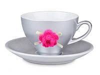 Чайный набор Lefard Розовый цветок 2 предмета, 494-018